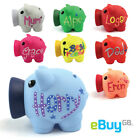 Personalised Piggy Bank - Money Box Coins Children Saving Gift Any Name Novelty