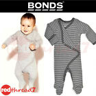 BONDS Baby Newbies Coverall Cotton Onepiece Outfit Jumpsuit Bodysuit Onesie Grey