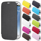 New Flip Case Back Battery Front Cover for Samsung Galaxy S3 III i9300
