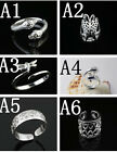Wholesale Fashion Jewelry 30 Style 925 Sterling Silver Women/Men Rings Gift SIZE