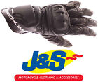 FRANK THOMAS FT1 ALPHA LEATHER MOTORCYCLE GLOVES MOTORBIKE GLOVE BLACK J&S