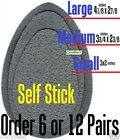 6pair or 12pair Shoe sole traction Shur Grip Self-adhesive stick antislip rubber