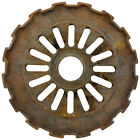 Flat Wide Tooth Gear Wall Decal Rusted Garage Removable Decor