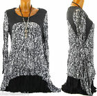 Tunic Dress Bohemian Crinkle + Necklace 38/48 - BERTILLE - Woman - Charleselie94