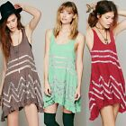 Fashion Hot Sale Womens Lace Floral Asymmetric Hem Dress Off Shoulder Mini Dress