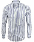 Camicia Uomo Manica lunga Cotone a Righe Classica Button Down GIROGAMA 2247ML