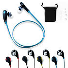 Sports Wireless Stereo Bluetooth 4.0 Headsets Headphone Earphone For iPhone 6 5s