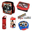 ONE DIRECTION - Lunch Bag/Bottle/Snack Pot/Sandwich Box+ (Kids, Back To School)