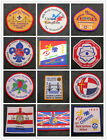 18th World Scout Jamboree 1995 Holland WSJ Contingent /Unit Badge / IST Patch #1