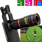 8x Zoom Telephoto Optical Camera Lens Telescope For Iphone 6 Samsung Smart Phone