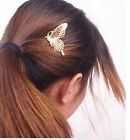Fashion Silver Gold color Butterfly Hair Comb Charm Hair accessory Jewelry