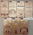 IPHONE 5/5s EXTRA THIN Phone Case GOLDEN Movie Cartoon Disney Plastic MICKY NEW