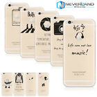 Ultra-thin Silicone Original Cartoon Animal Printed Clear Soft Phone Case Cover