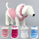 Dog Clothes Hoodie Jacket Down Puppy Pet Warm waterproof Coat Costume Apparel