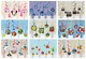 12 HANGING SWIRLS - Licensed Character Childrens Kids Birthday Party Decorations