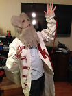 Scarecrow straight jacket costume - full length- with hood