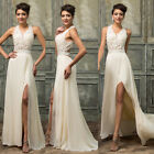 PLUS SIZE Homecoming Wedding Evening Party Prom Ball Gown Formal Long MAXI Dress