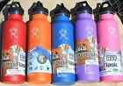 21 oz Hydro Flask 2 LIDS sip top INSULATED STAINLESS STEEL water bottle HOT/COLD