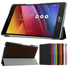 """Tri-Fold Leather Cover Case Stand For 8"""" ASUS ZenPad 8.0 Z380C Z380KL+Protector"""
