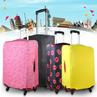 "20"" To 28"" Black Anti-Scratch Elastic Luggage Protector Suitcase Cover Bags"