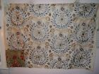 Lee Jofa Mulberry fabric for craft embroidered floral Diva Silk color soft blue