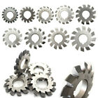 1/8pcs M0.5-M10 Diameter 22mm PA20°  20degree #1-8 Involute Gear Cutters Set HSS