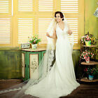 NEW 1.5/2M Soft Tulle Cathedral Chapel Length Bridal Long Wedding Veil White