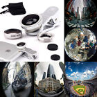 New 3 In 1 Quick Camera lens Fish Eye Wide Angle Macro Kit For iPhone 5 5S 5C