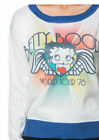Retro Betty Boop Licensed World Tour Sweat Top Long Sleeve Shirt Jumper 50s $35.99 AUD on eBay
