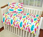 2 PIECE SET 120 90 OR 135 100 PILLOWCASE & DUVET COVER FIT COT OR COTBED