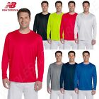 New Balance Men's Tempo Long Sleeve Performance S-3XL T-Shirt M-N9119