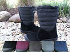 Sporto Waterproof Suede Quilted Mid Calf Winter Snow Boots pick size color ELLIE