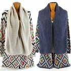Vest Cardigan Scarf Long Wool Ethnic - JOSSELIN - Woman - CharlesElie94