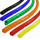 Spiral Cable Wrap Color Options 1 4 3 8 1 2 3 4 1 1 1 4