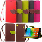 NEW Flip Leather Card Wallet Case Stand Cover Pouch&Strap For Lenovo Smart Phnes