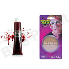 HALLOWEEN ZOMBIE FAKE BLOOD FACE BODY WAX SPECIAL EFFECTS FANCY DRESS HORROR