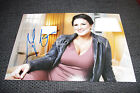 GINA CARANO signed 8x12 inch autographed Photo InPerson MARTIAL ARTS HAYWIRE