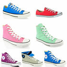 UNISEX CONVERSE ALL STAR CT HI LO TOP CANVAS LEATHER TRAINERS SHOES SIZE 6