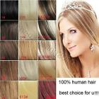 """AAA 7pcs 15"""" 16"""" 100% Remy Human Hair Clip In Extension Any Colors In Stock"""