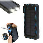 100000mAh Solar Power Bank Cigarette External Battery Charger For Tablets Phones