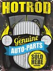Genuine Auto Parts Sold Here Tin Sign 30.5x40.7cm