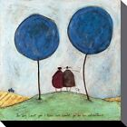 Sam Toft The Day I Met You Canvas Print 30x30cm