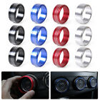 NEW 3x Alloy Air Conditioning AC Button Knob Cover Trim for Subaru Forester XV