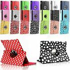 360° Degree Rotating Smart Leather Stand Case Cover Apple iPad Air 2, 3 4 & Mini