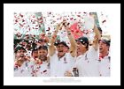 England Team 2011 Ashes Series Celebrations Cricket Photo Memorabilia (253)