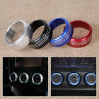 3pcs Alloy Air Conditioning AC Button Knob Cover Trim for Subaru Forester XV