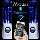 LED Dancing Water Wireless Bluetooth Stereo Speaker iPhone iPad Samsung Computer