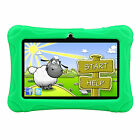 2016 Quad Core 7'' Tablet 16GB HD Android 4.4 Dual Camera WiFi Bundle for Kids