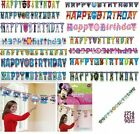 Happy Birthday - Add An Age - Party Letter Banner (Childrens Kids Characters)