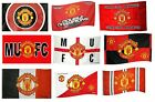 OFFICIAL MANCHESTER UNITED FOOTBALL CLUB FLAGS 1.5m x 0.9m